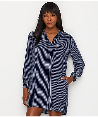 0adfad70f1ab8 Donna Karan Broken Symmetry Woven Sleepshirt
