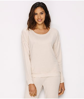 Donna Karan Fall Essentials Knit Lounge Top