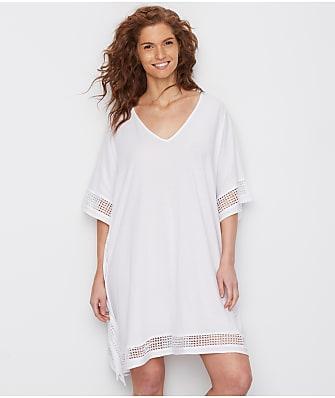Donna Karan Cotton Luxe Knit Sleep Caftan