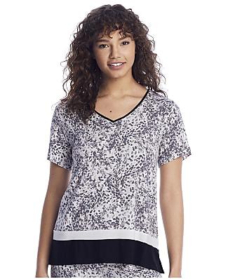 Donna Karan Sleepwear Elevated Neutrals Modal Sleep Top