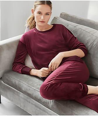 Donna Karan Sleepwear Plush Lounge Top