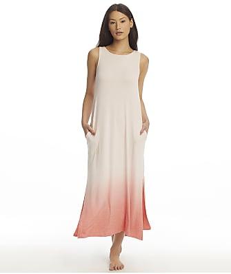 Donna Karan Sleepwear Sunset To Sunrise Maxi Knit Gown