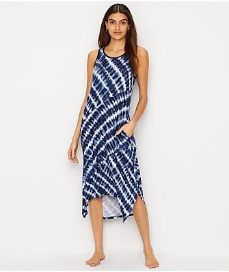 Donna Karan Tie Dye Modal Nightgown