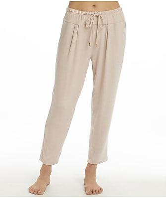 Donna Karan Sleepwear Sunset To Sunrise Cropped Lounge Pant
