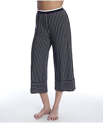 Donna Karan Sleepwear Get In Line Modal Capri Pajama Pants