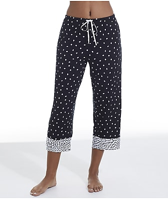 Donna Karan Sleepwear Midnight Magic Modal Capri Pajama Pants