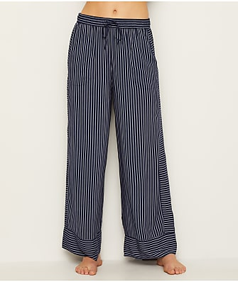 Donna Karan Broken Symmetry Woven Pajama Pants
