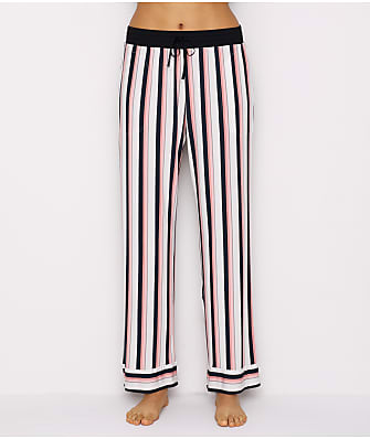 Donna Karan Modal Stripe Pants