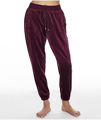 Donna Karan Sleepwear Plush Joggers