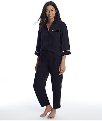 Donna Karan Sleepwear Woven Pajama Set