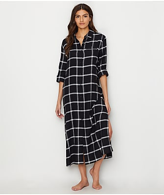 Donna Karan Flannel Night Gown