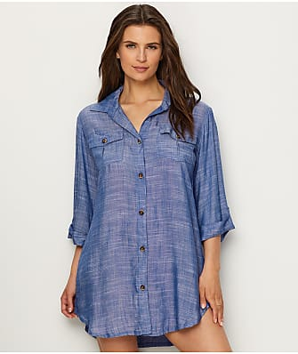 Dotti Cabana Life Woven Swim Cover-Up