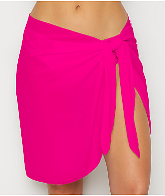 Dotti Summer Solids Short Sarong Cover-Up