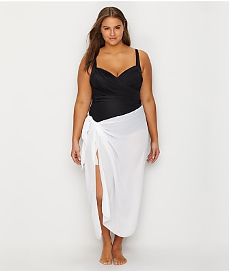 Dotti Plus Size Long Sarong Cover-Up