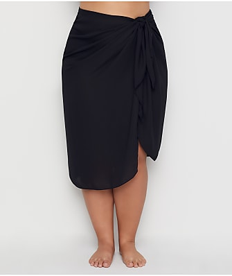 Dotti Plus Size Summer Sarong Long Pareo Cover-Up