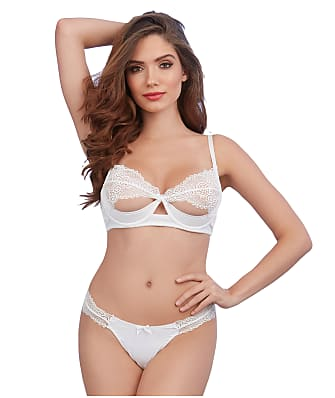 Dreamgirl Lace Bra and Panty Set