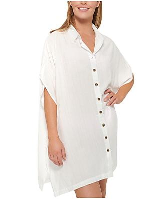 Dotti Royal Belize Shirt Dress Cover-Up