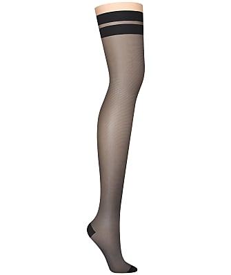 DKNY Stripe Thigh Highs