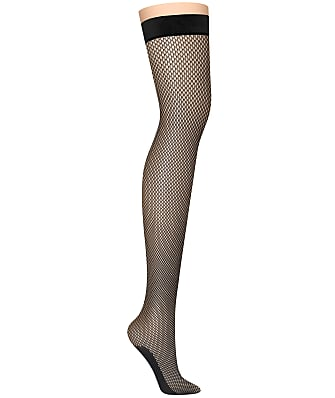 DKNY Fishnet Thigh Highs