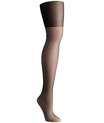 DKNY Illusion Over The Knee Net Tights