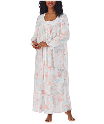 Eileen West Button-Front Woven Robe