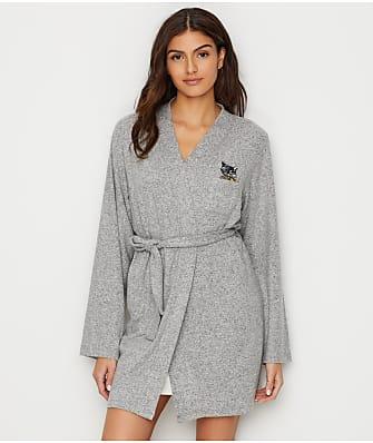 ED Ellen DeGeneres Love The Lounge Knit Kimono Robe