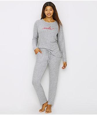 ED Ellen DeGeneres Smile Knit Pajama Set