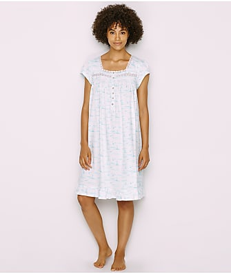 Eileen West Sailboat Knit Nightgown