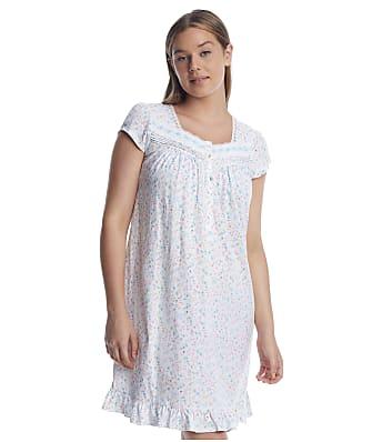 Eileen West Aqua Knit Nightgown
