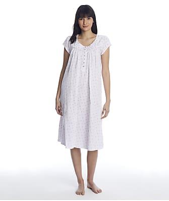 Eileen West Viney Floral Knit Nightgown