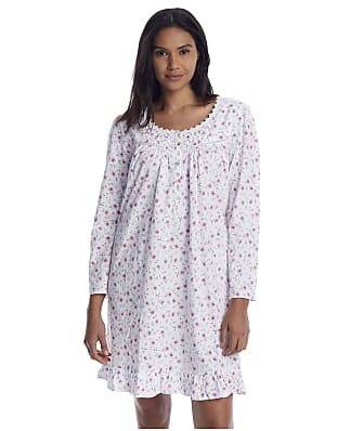 Eileen West Floral Knit Nightgown
