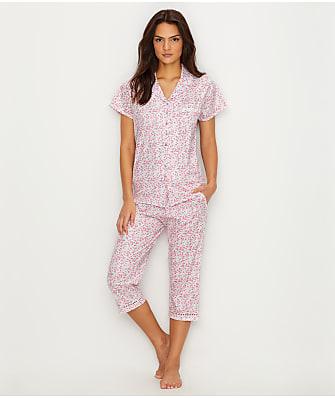 Eileen West Jersey Knit Capri Pajama Set