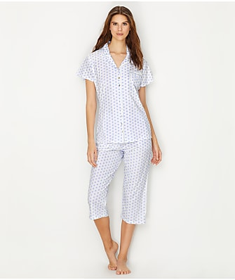 Eileen West Jersey Knit Pajama Set