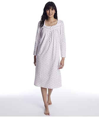 Eileen West Blush Bouquet Knit Nightgown