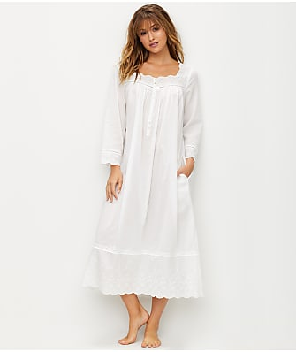 Eileen West Embroidered Ballet Woven Night Gown
