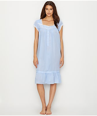 Eileen West Waltz Embroidered Woven Night Gown