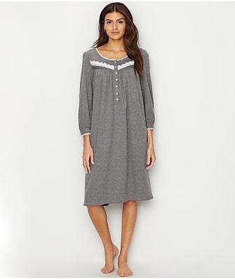 Eileen West Heather Knit Waltz Nightgown