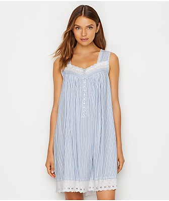 Eileen West Classic Stripe Woven Chemise