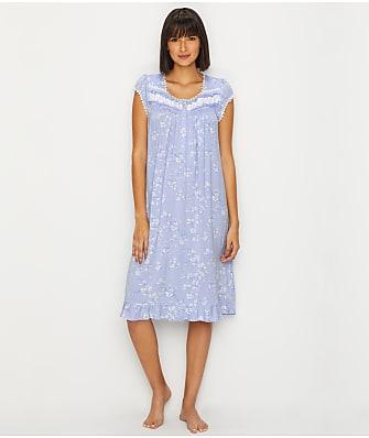 Eileen West Modal Waltz Floral Nightgown