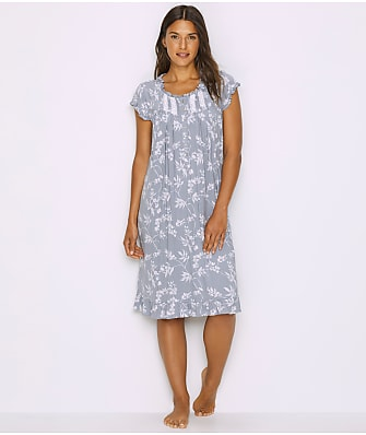 Eileen West Floral Modal Waltz Nightgown