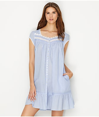 Eileen West Classic Stripe Woven Night Gown