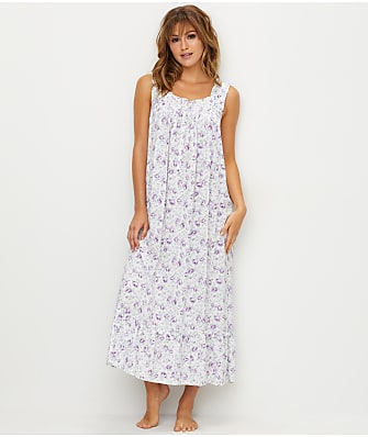 Eileen West Floral Woven Ballet Night Gown