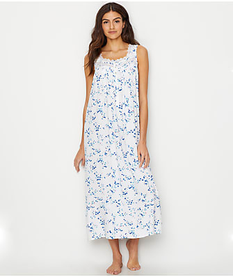 Eileen West Ballet Woven Floral Night Gown