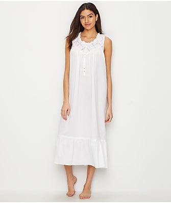 e83c2731d0 Eileen West Classic Lawn Ballet Woven Nightgown