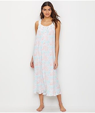 Eileen West Lawn Ballet Floral Modal Nightgown