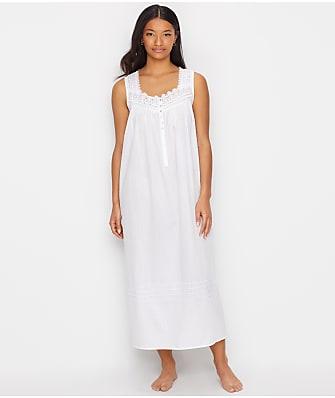 Eileen West Sheer Stripe Woven Ballet Nightgown