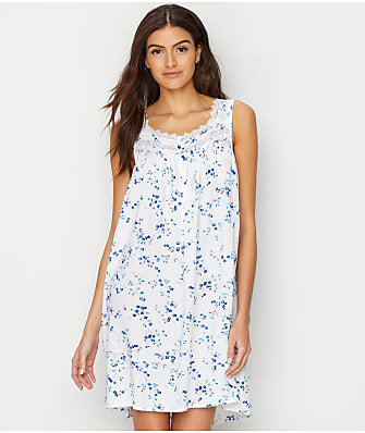 Eileen West Floral Woven Chemise