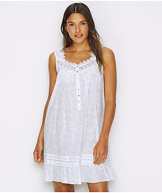 Eileen West Floral Woven Lawn Chemise