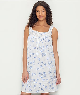 Eileen West Floral Lawn Woven Chemise