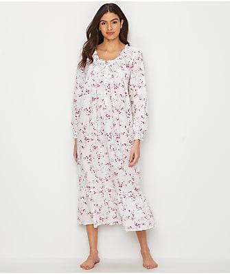 bd1fcb5d05 Eileen West Lawn Ballet Woven Floral Nightgown